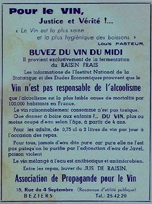 Buvez du vin du Midi