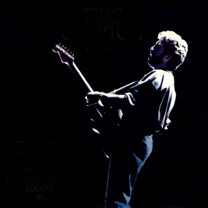 Eric Clapton on stage
