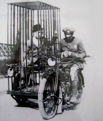 Harley Davidson Mobile Jail