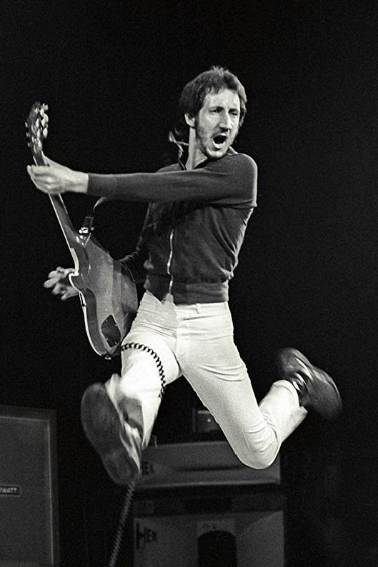 Pete Townshend jump