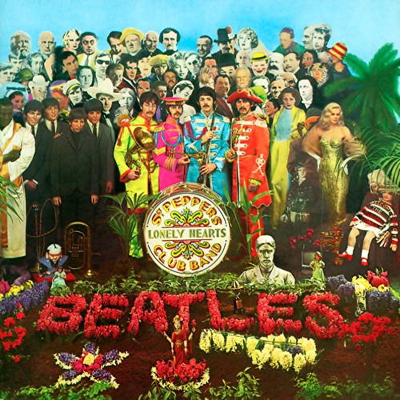 Peter Blake Beatles album cover art