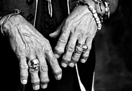 Keith Richards arthrose des doigts
