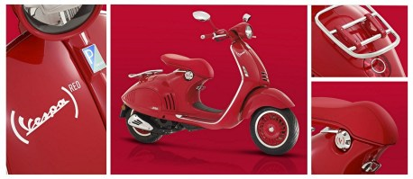 Vespa RED 946