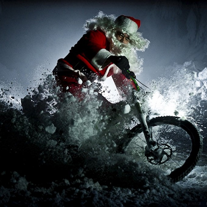 Santa Mountain Bike