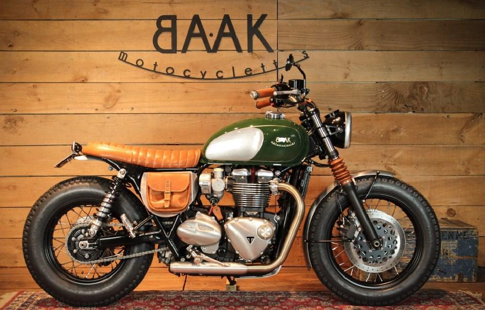 Triumph T120 Dandy Bonnie