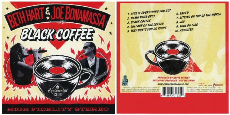Beth Hart & Joe Bonamassa nouvel album Black Coffee