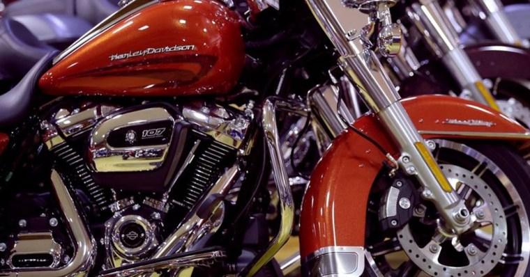 Harley Davidson en difficulté