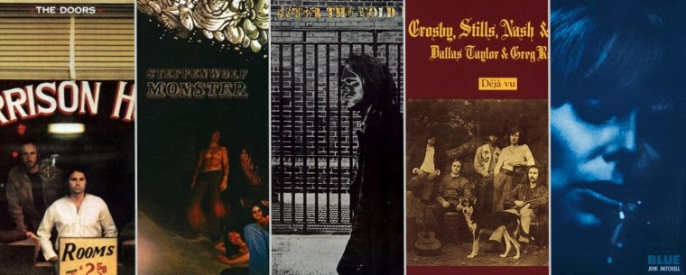 Gary Burden albums cover art