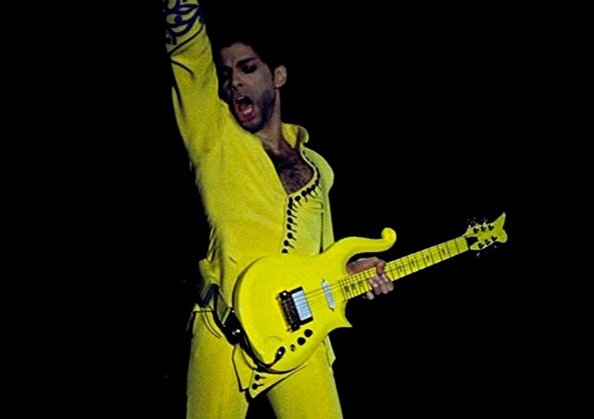 La guitare de Prince aux enchères
