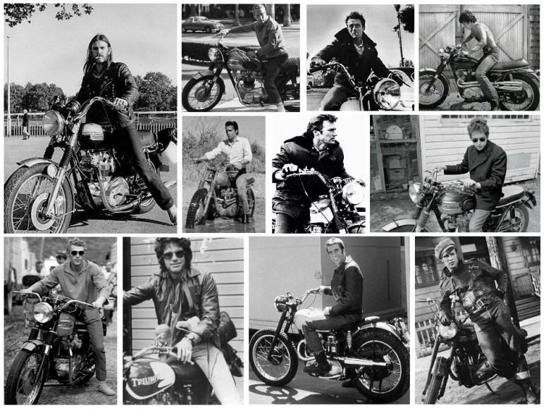 Celebrities on Triumph