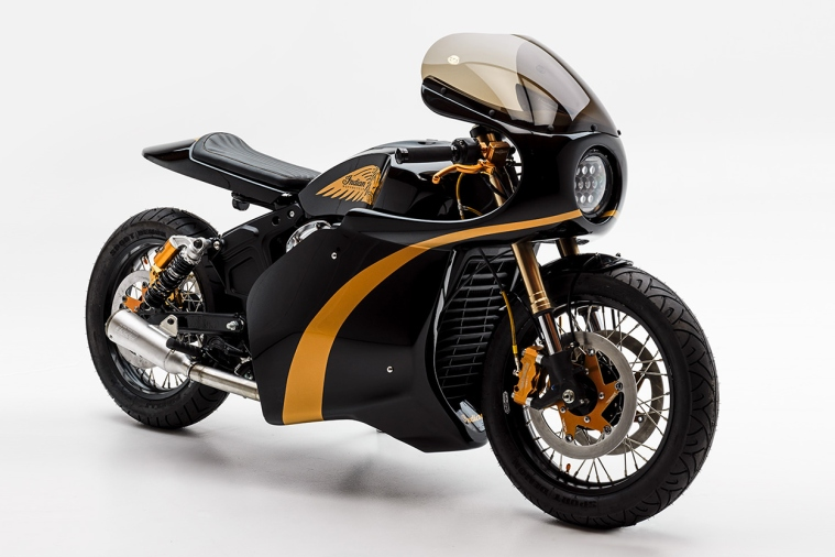 Indian Scout Bobber Cafe Racer
