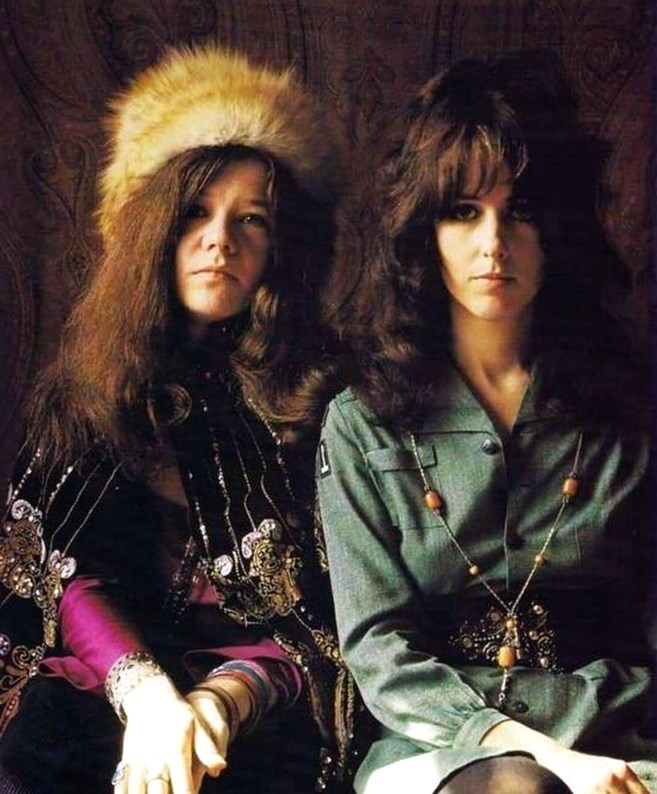 Janis & Grace the queen Bees of Rock