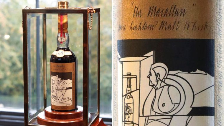 Record Vente Macallan 1926