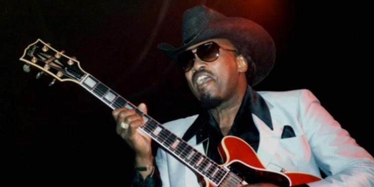 Otis Rush à Londres en août 1988