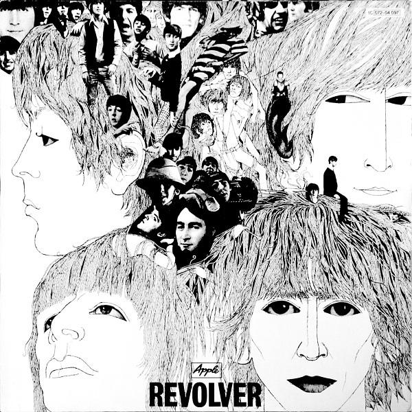 Klaus Voormann Revolver Cover