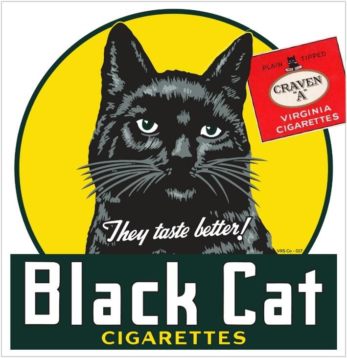 Craven A Black Cat
