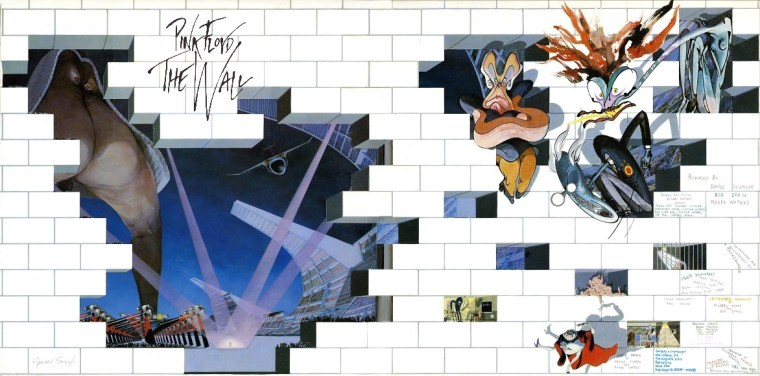 Gerald Scarfe The Wall Cover Art