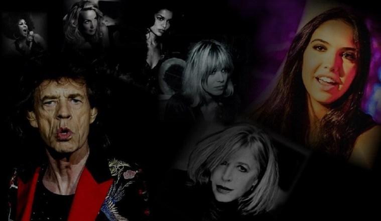 Mick Jagger: de Mariane Faithful à Melanie Hamrick