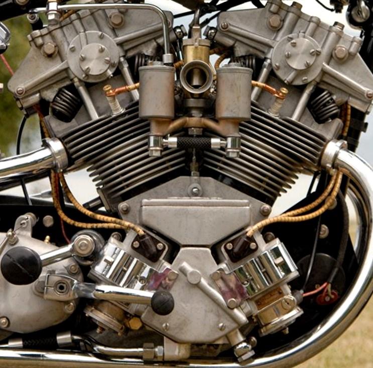 Moteur AJS V4 1936