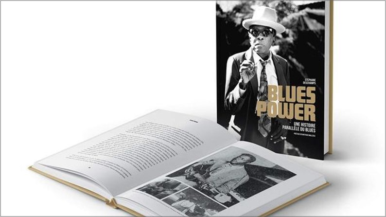 Livre Stéphane Deschamps Blues Power