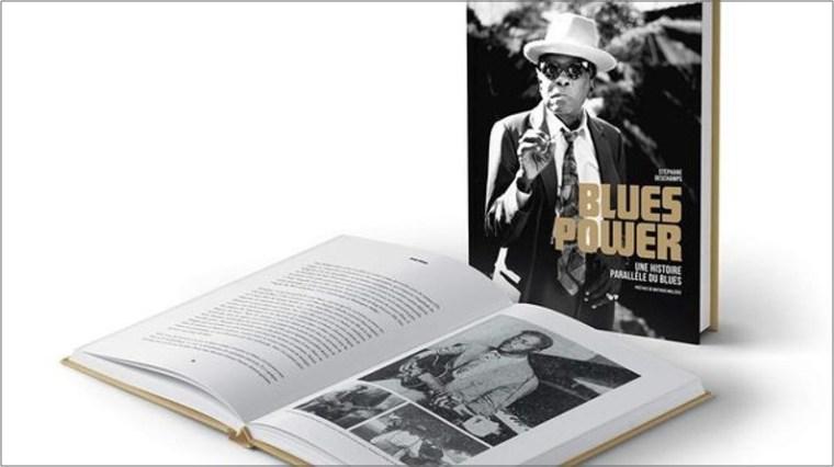 Livre Stéphane Deschamps Blues Power