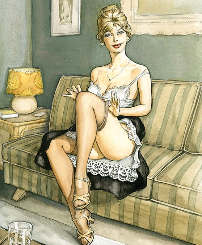 Pin-Up Patrick Hitte