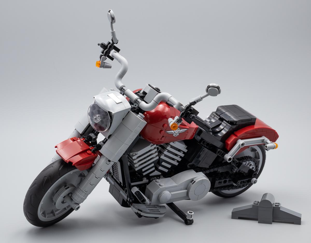 Creator Expert Harley-Davidson Fat Boy