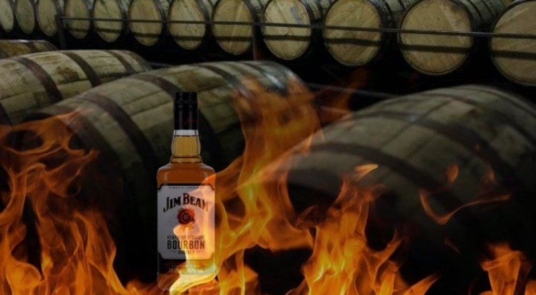 Jim Beam, Kentucky Bourbon en feu