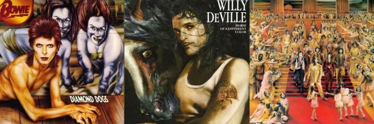 Guy Peellaert: Stones, Bowie, Willy DeVille