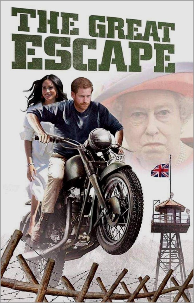 Megxit, The Great Escape