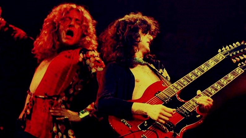 Robert Plant & Jimmy Page live
